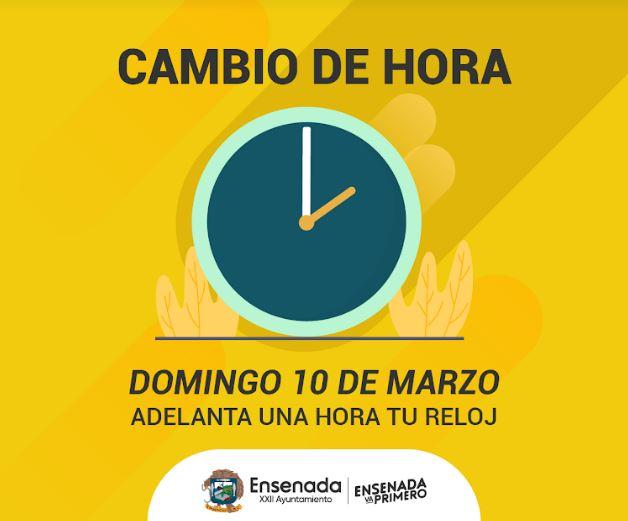 En La Este 10 De Tu MarzoTijuana Hora Adelanta Reloj Domingo Una 0wn8POk